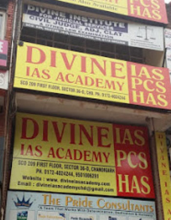 Divine Academy IAS Coaching In Chandigarh