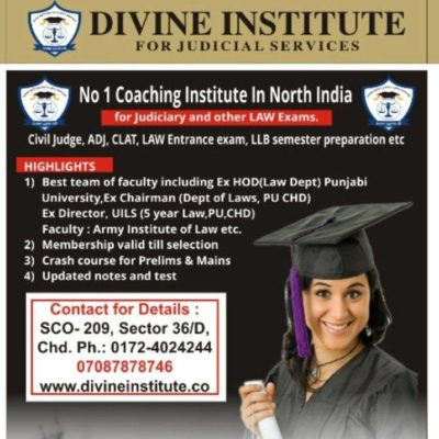 Divine Institute – CLAT Coaching In Chandigarh