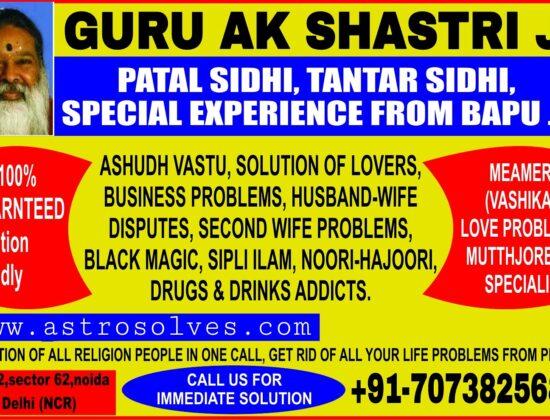 World's no.1 astrologer ak shastri ji